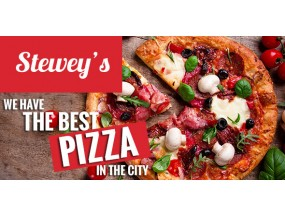 Steweys - Fast Food, Pizza HTML-тема