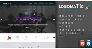 Logomatic - One Page HTML