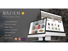 Тема Bazien Magento | мода