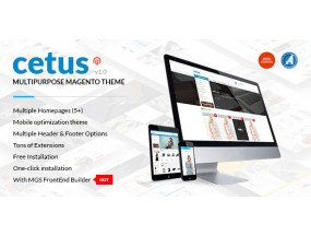 Cetus - многофункциональная тема Magento | Покупка Cetus - Multipurpose Magento Theme | Shopping