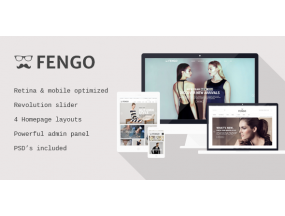 Fengo - отзывчивая тема Magento