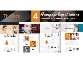 Theface - Тема Magento для магазина красоты и косметики