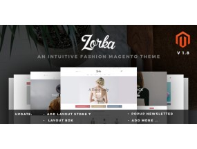 ZORKA - Wonderful Fashion eCommerce Magento Темы