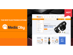 MediaCity - Технология Отзывчивая тема Magento