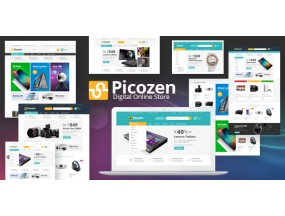 Picozen - отзывчивая тема Magento 2