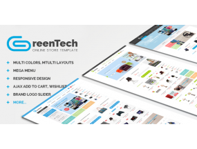 GreenTech - Shopping Responsive Opencart Theme
