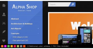 Alpha Shop OpenCart Альфа-магазин