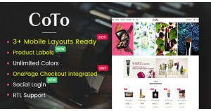Coto - тема Beauty & Spa Store OpenCart 2.3