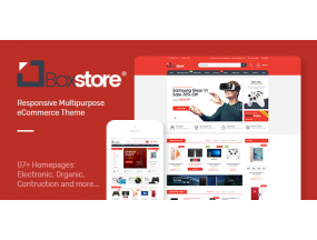 BoxStore - Многоцелевая тема OpenCart