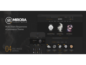Mirora - Магазин часов и Luxury PrestaShop
