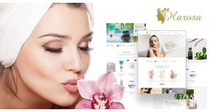 Harosa - Косметика и Красота Magento Тема - Cosmetics and Beauty Magento Theme