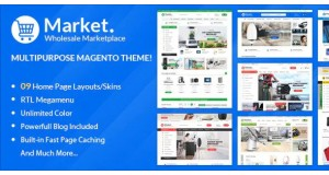 ALO Market Отзывчивая Тема Magento 2 | RTL поддерживается - Responsive Magento 2 Theme | RTL supported
