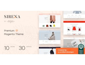 Сирена V2.1  - многоцелевой отзывчивый Magento  Sirena - Multi-Purpose Responsive Theme
