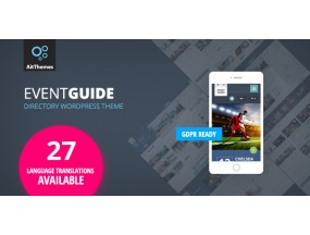 Event Guide - Ultimate Directory Listing Theme для мероприятий, концертов, концертов, музеев или галерей