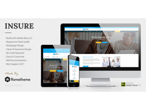 Страхование - страхование, финансы и бизнес insure insurance finance business muse template