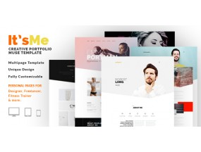 Это я - Creative Multipage Portfolio Muse Theme