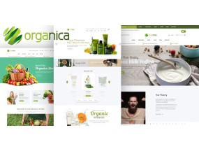 Organica - Organic, Beauty, Natural Cosmetics, Food, Farn и Eco Opencart 2.3 и 3.x
