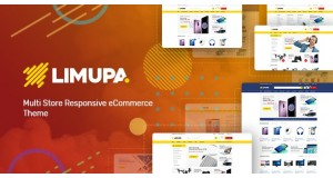 Limupa - Technology OpenCart Theme (Included Color Swatches)