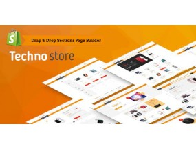 Techno Store - Electronic eCommerce Shopify Theme | Technology Техно Магазин - электронная коммерция Shopify Theme | Технологии