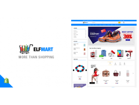 Elfmart - все в одной теме Shopify - All in One Shopify Theme