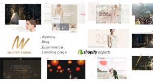 VOW - Свадебная тема Shopify | Shopify The - Wedding Responsive Shopify Theme
