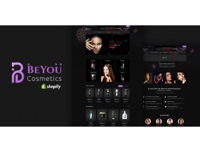 Be-You | Мода, красота, косметика Shopify Theme | Fashion Beauty, Cosmetics