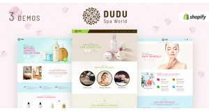 DUDU - магазинная тема Beauty Cosmetic Shopify Theme