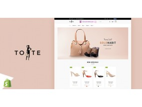 Тотализатор | Магазин сумок и обуви Shopify Theme Tote | Bags & Shoes Shop