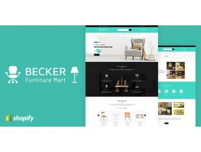 Беккер | Магазин мебели, Электроника Shopify Theme Becker | Furniture shop, Electronics