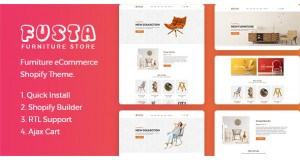 Фуста - Мебель Shopify Theme Fusta - Furniture