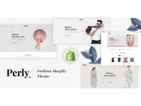 Fashion Shopify Theme - Perly