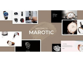 Marotic - магазин часов Shopify Theme – Minimal & Clean Watch Store