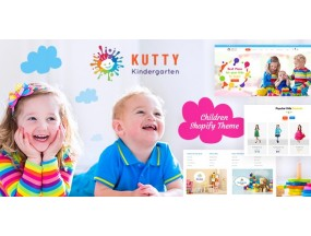 Kutty Kids | Детский магазин Shopify Theme Kutty Kids | Children Shop