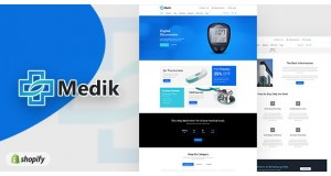 Медик | Медицинская тема Shopify Medik | Medical Theme
