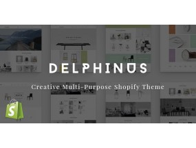 Delphinus - креативная многоцелевая тема Delphinus - Creative Multi-Purpose Shopify Theme