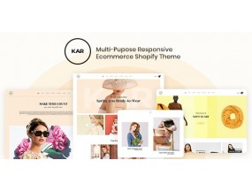 Karic - многоцелевая креативная тема Shopify - Multiple and Purpose Creative Theme