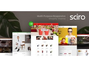 Sciro - многоцелевая отзывчивая тема Shopify | Shopify – Multi-Purpose Responsive Shopify Theme | Shopify
