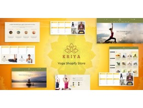 Крия - пилатес, тема йоги Kriya - Pilates, Yoga Shopify Theme