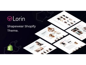 Лорин - Lorin – Shapewear Shopify Theme