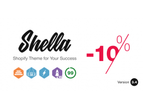 Shella - универсальная тема Shopify - Multipurpose Shopify theme, fastest with the banner builder
