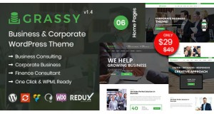 Grassy - Business WordPress Theme