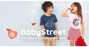 BabyStreet - WooCommerce Theme для детских игрушек и магазинов одежды - WooCommerce Theme for Kids Toys and Clothes Shops