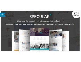 Specular - Бизнес WordPress Многоцелевой - Business WordPress Multi-Purpose
