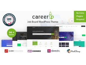 CareerUp - Работа Доска WordPress Theme CareerUp - Job Board WordPress Theme