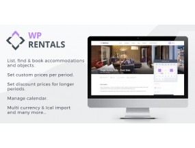 WP Rentals - бронирование размещения WordPress Theme - Booking Accommodation WordPress Theme