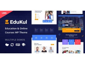 Edukul | Эдукуль | Интернет курсы WordPress Theme
