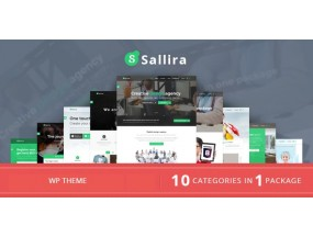 Sallira - Саллира - многоцелевой стартап бизнес WordPress Theme - Multipurpose Startup Business WordPress Theme