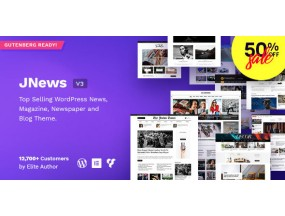 JNews - Блог WordPress Magazine Блог Тема AMP