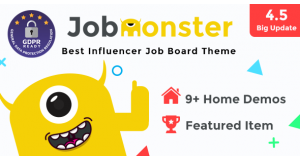 Jobmonster - Работа Board WordPress Theme