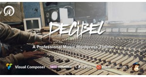 Decibel - Профессиональная музыка WordPress Theme
